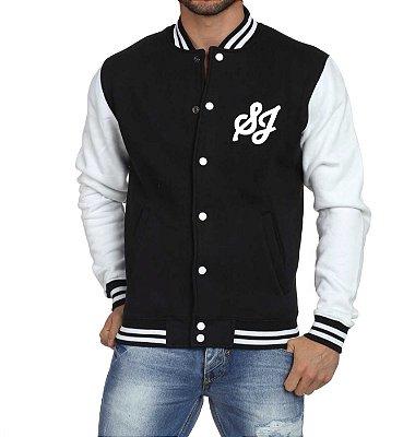Jaqueta College Masculina Kpop Banda Super Junior K-pop - Jaquetas Colegial Americana Universitária Baseball Casacos Blusa Blusão Baratos Loja Online
