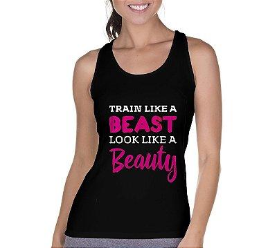 Regata Feminina Fitness Like Beauty Preta