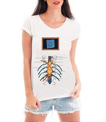Camiseta Feminina Blusa Grey's Anatomy Medicina - Seriado/ Série/ Customizadas/ Estampadas/ Camiseteria/ Estamparia/ Estampar/ Personalizar/ Customizar/ Criar/ Camisa Blusas