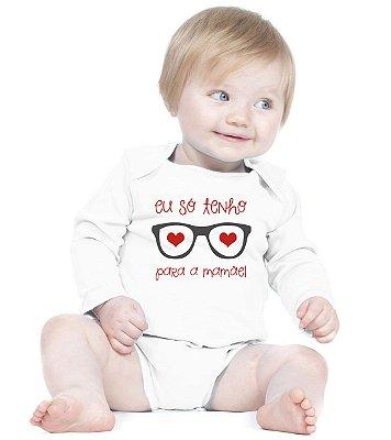 Body Bebê Só Tenho Olhos Para Mamãe