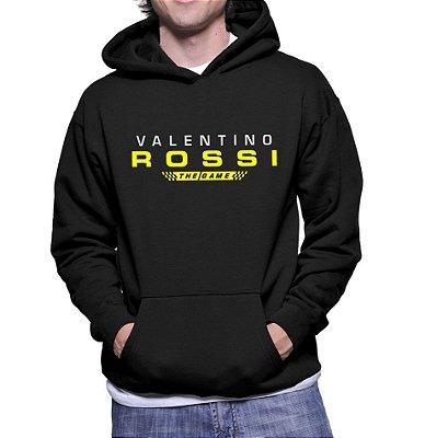 Moletom Masculino Valentino Rossi The Game Preto