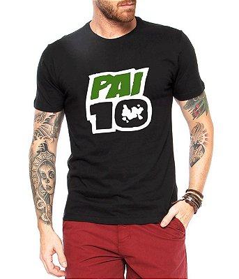 Camiseta Masculina Pai 10 Dia Dos Pais - Personalizadas/ Customizadas/ Estampadas/ Camiseteria/ Estamparia/ Estampar/ Personalizar/ Customizar/ Criar/ Camisa Blusas Baratas Modelos Legais Loja Online