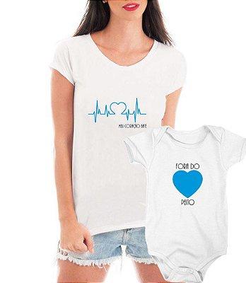 Camiseta Blusa e Body Tal Mãe Tal Filho Amor De Mãe - Personalizadas/ Customizadas/ Estampadas/ Camiseteria/ Estamparia/ Estampar/ Personalizar/ Customizar/ Criar/ Camisa Blusas Baratas Modelos Legais Loja Online