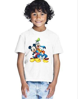 Camiseta Infantil Menino Desenho Mickey e Amigos - Personalizadas/ Customizadas/ Estampadas/ Camiseteria/ Estamparia/ Estampar/ Personalizar/ Customizar/ Criar/ Camisa Blusas Baratas Modelos Legais Loja Online