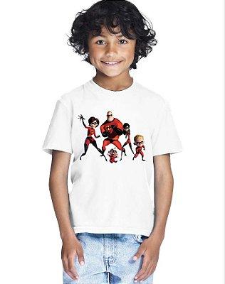 Camiseta Infantil Menino Os Incríveis Desenho - Personalizadas/ Customizadas/ Estampadas/ Camiseteria/ Estamparia/ Estampar/ Personalizar/ Customizar/ Criar/ Camisa Blusas Baratas Modelos Legais Loja Online