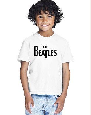 Camiseta Infantil Menino The Beatles - Personalizadas/ Customizadas/ Estampadas/ Camiseteria/ Estamparia/ Estampar/ Personalizar/ Customizar/ Criar/ Camisa Blusas Baratas Modelos Legais Loja Online
