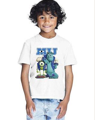 Camiseta Infantil Menino Monstros S.A Filme - Personalizadas/ Customizadas/ Estampadas/ Camiseteria/ Estamparia/ Estampar/ Personalizar/ Customizar/ Criar/ Camisa Blusas Baratas Modelos Legais Loja Online
