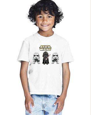 Camiseta Infantil Menino Star Wars Filme - Personalizadas/ Customizadas/ Estampadas/ Camiseteria/ Estamparia/ Estampar/ Personalizar/ Customizar/ Criar/ Camisa Blusas Baratas Modelos Legais Loja Online