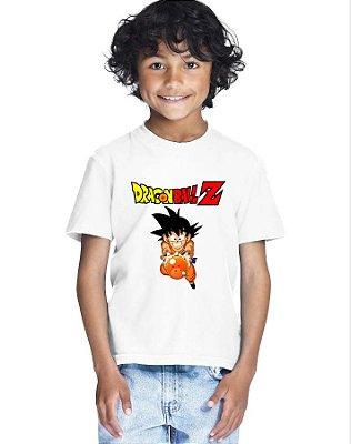 Camiseta Infantil Menino Dragon Ball Z - Personalizadas/ Customizadas/ Estampadas/ Camiseteria/ Estamparia/ Estampar/ Personalizar/ Customizar/ Criar/ Camisa Blusas Baratas Modelos Legais Loja Online