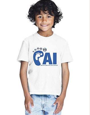 Camiseta Infantil Menino Seguirei Seus Passos Grêmio - Personalizadas/ Customizadas/ Estampadas/ Camiseteria/ Estamparia/ Estampar/ Personalizar/ Customizar/ Criar/ Camisa Blusas Baratas Modelos Legais Loja Online