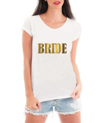 Camiseta Feminina Noiva