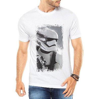 Camiseta Masculina Star Wars Filme Stormtrumper  - Personalizadas/ Customizadas/ Estampadas/ Camiseteria/ Estamparia/ Estampar/ Personalizar/ Customizar/ Criar/ Camisa Blusas Baratas Modelos Legais Loja Online