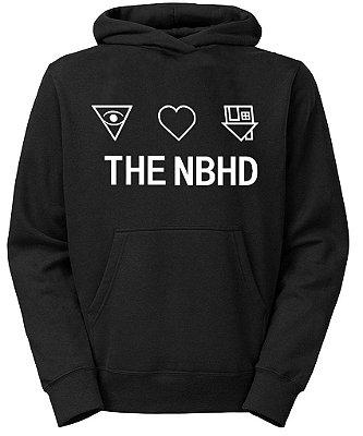Moletom Masculino The NBHD Neighbourhood Album Banda Símbolos  - Moletons Personalizados Blusa/ Casacos Baratos/ Blusão/Canguru