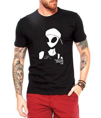 Camiseta Masculina Ets Estão Entre Nós Nerd Geek Tumblr - Personalizadas/ Customizadas/ Estampadas/ Camiseteria/ Estamparia/ Estampar/ Personalizar/ Customizar/ Criar/ Camisa Blusas Baratas Modelos Legais Loja Online