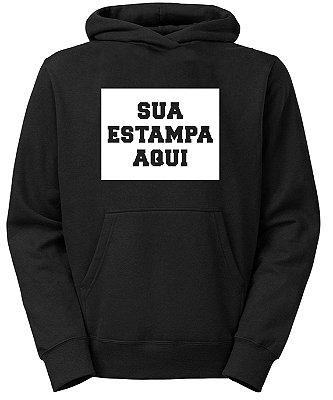 Moletom Personalizado Faculdade Blusa de Frio Terceirão Canguru