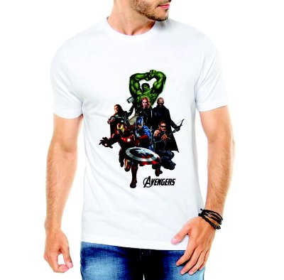 Camiseta Vingadores Ultimato Avengers Marvel Super Heróis