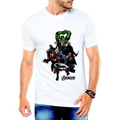 Camiseta Vingadores Ultimato Avengers Marvel Super Heróis