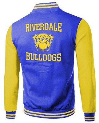 Jaqueta Masculina Riverdale Archie Blusa de Frio Moletom Bulldogs