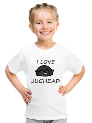 Camiseta Infantil Riverdale Jughead Jones Serpentes do Sul Série