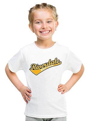 Camiseta Infantil Riverdale Escola Serpentes do Sul Vixens Série Blusa Infantil Menina