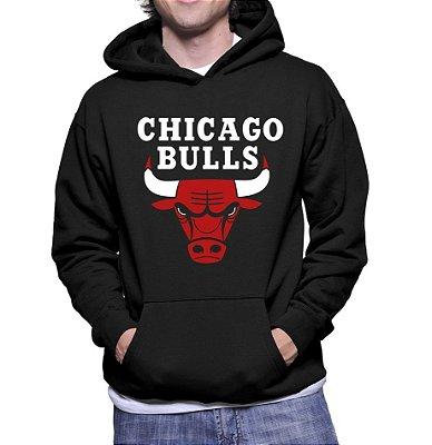 Moletom Masculino Nba Chicago Bulls - Moletons Personalizados Blusa / Casacos Baratos / Blusão / Jaqueta Canguru