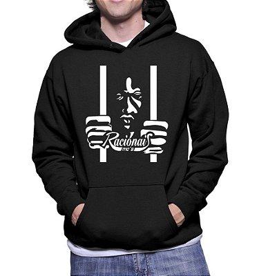 Moletom Masculino Racionais Vida Loka Hip Hop - Moletons Personalizados Blusa/ Casacos Baratos/ Blusão/ Jaqueta Canguru