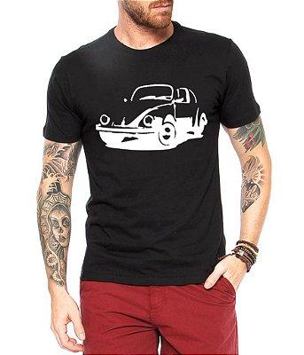 Camiseta Masculina Fusca Carro Antigo Clássico