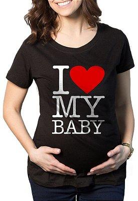 Camiseta Feminina Gestantes Grávidas Personalizada