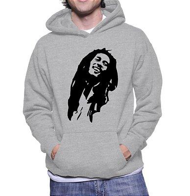 Moletom Masculino Bob Marley Banda - Moletons Personalizados Blusa/ Casacos Baratos/ Blusão/ Jaqueta Canguru