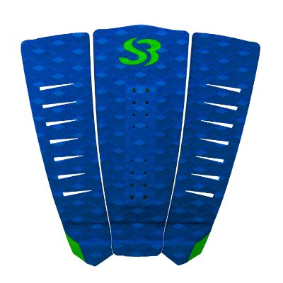 Deck Surf Silverbay TIGER - Azul/Verde Limão