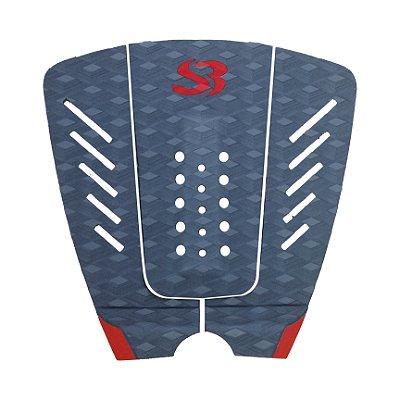 Deck Surf Silverbay WT X PRO - Cor: Chumbo/Vermelho