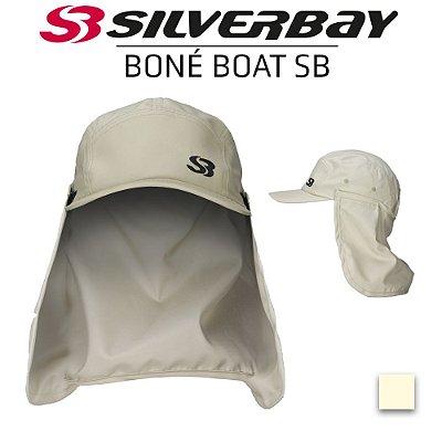 Boné Boat SILVERBAY com Protetor de Nuca - Sand