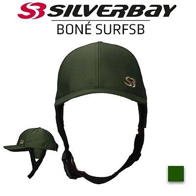 Boné Surf SILVERBAY com Protetor de Orelha - Verde Militar