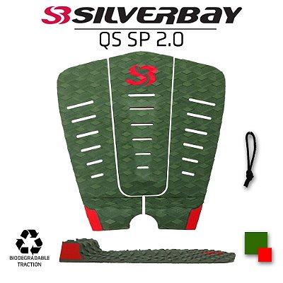 Deck Surf SILVERBAY QS SP 2.0 IMPACTO - Signature Samual Pupo - Militar/Vermelho