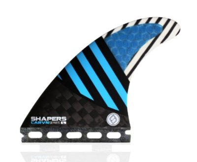 Quilha Shapers Single Tab Carvn Carbon Hybrid Thruster - L