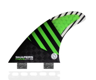 Quilha Shapers Dual Tab Carvn Carbon Hybrid Thruster - M