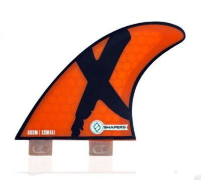 Quilha Shapers Dual Tab Grom Core Lite Thruster - XS