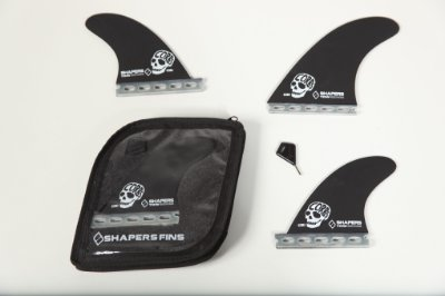 Jogo de Quilhas Shapers Single Tab DC2 Tow Surf Thruster - L