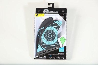Jogo de Quilhas Shapers Single Tab Pivot Core Lite Thruster - L