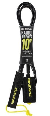 "Leash Surf Dakine Kainui 10' x 5/16"" - Preto"