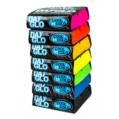Parafina Sticky Bumps Colorida Day Glo Cool-Cold