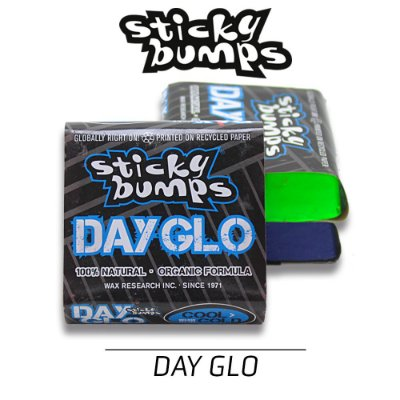 Parafina STICKY BUMPS DAY GLO Colorida Cool-Cold