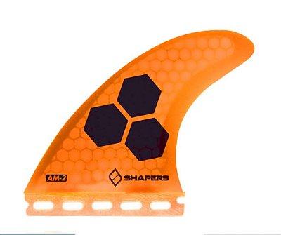 Jogo de Quilhas Shapers Single Tab Al Merrick AM2 Core Lite Thruster - L