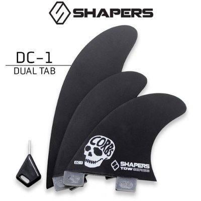 Quilhas SHAPERS Fins TOWN SERIES DC-1 DUAL TAB