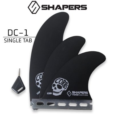 Quilhas SHAPERS Fins TOWN SERIES DC-1 SINGLE TAB