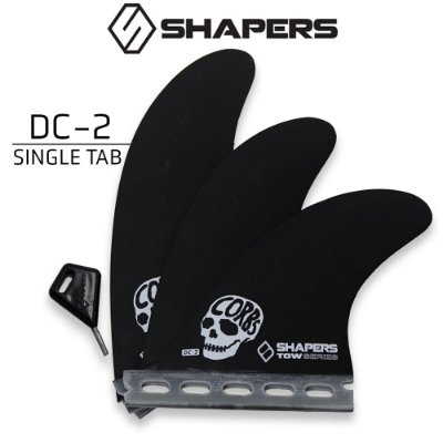 Quilhas SHAPERS Fins TOWN SERIES DC-2 SINGLE TAB
