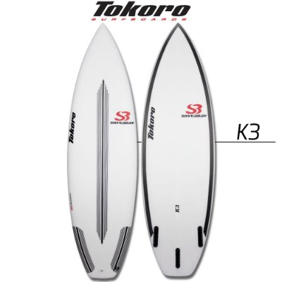 Prancha Tokoro K3 - 5' 9'' X 18,75 X 2,31 X 26,03 LTS