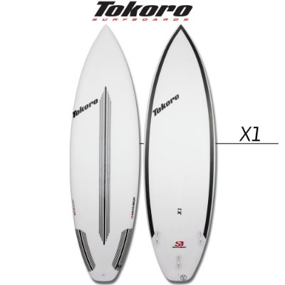 Prancha Tokoro X1 - 5' 11'' X 19 X 2,5 X 29 LTS