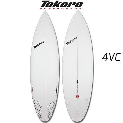 Prancha Tokoro 4VC - 6' 2'' X 19,50 X 2,63 X 32,50 LTS