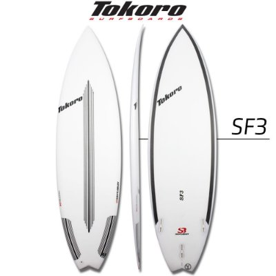 Prancha Tokoro SF3 - 5' 10'' x 18,88 x 2,44 x 28,20L